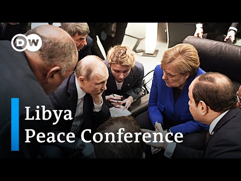 Libya Peace Conference: World Leaders pledge to stop weapon transfers | DW News