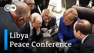 Libya Peace Conference: World Leaders pledge to stop weapon transfers  