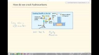 iGCSE Organic Chemistry - Cracking