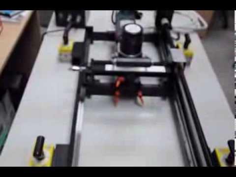 Переделки самодельного фрезера пантографа - YouTube