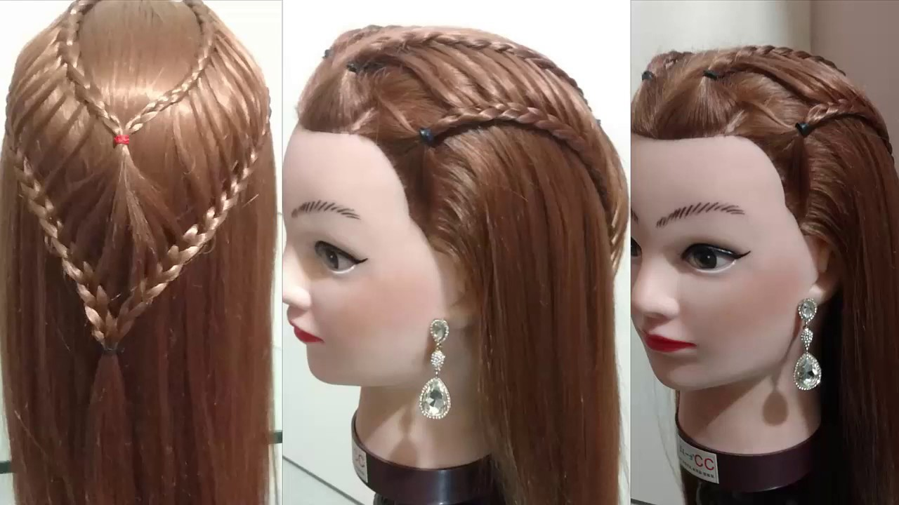 Beautiful Cute Hairstyle For Girls Simple And Easy Hairstyle For Girls For Party Or Function