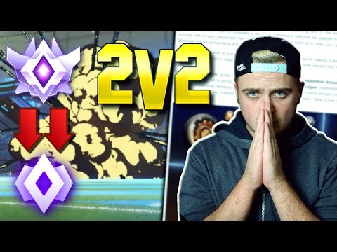 Did Rocket League LIE To Us About The New Ranks?! | Season 7 2V2 PLACEMENT Matches - [FUNNY MOMENTS]