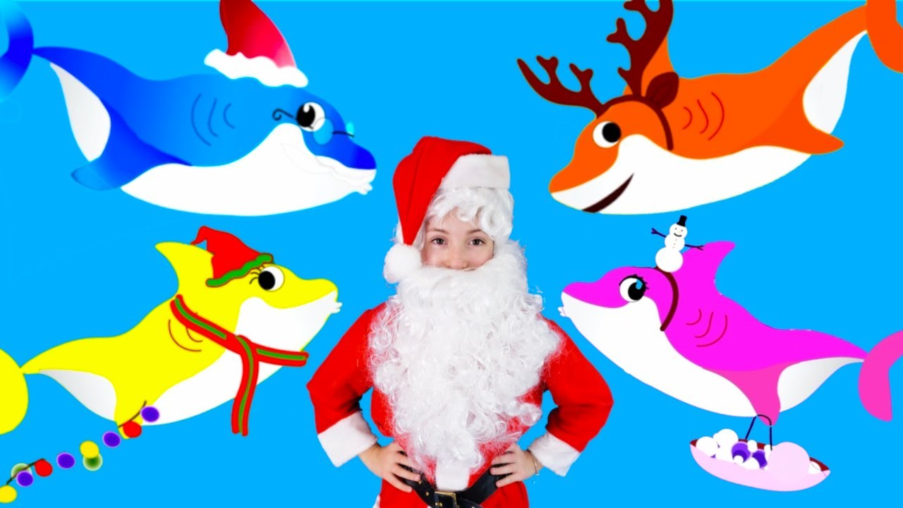 Baby Shark Christmas Song for Kids | Sing & Dance with ...