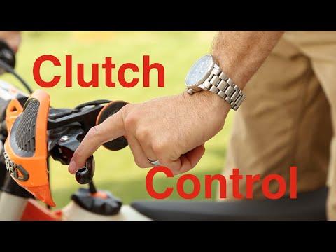Dirt Bike Clutch Control