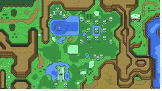 「The legend of zelda a link to past live map in HTML5」上を探検するとこんな感じ