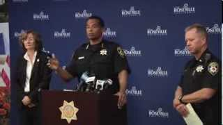 City of Roseville, CA - Roseville Police Press Conference Oct. 26, 2013