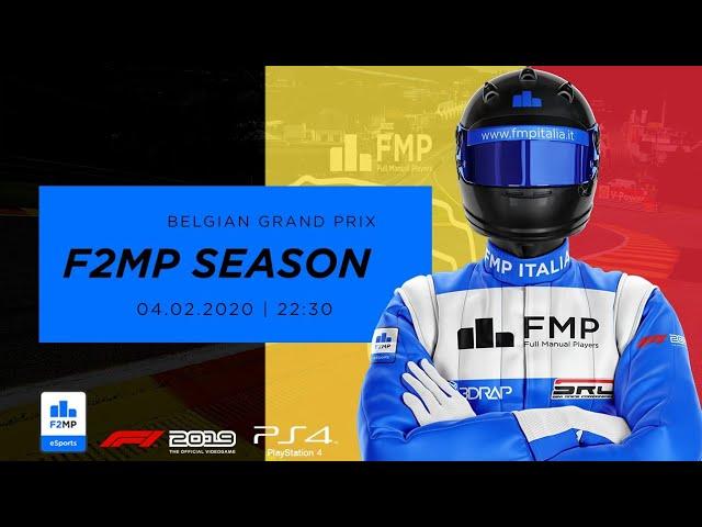 F2MP | CLOSING SEASON #3 | BELGIAN GRAND PRIX FMP ITALIA