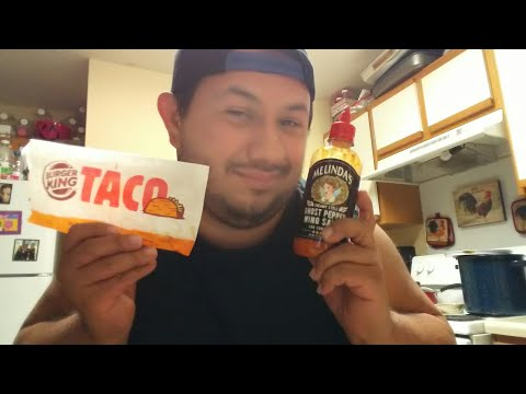 Burger King Ghost Pepper Taco Food Review