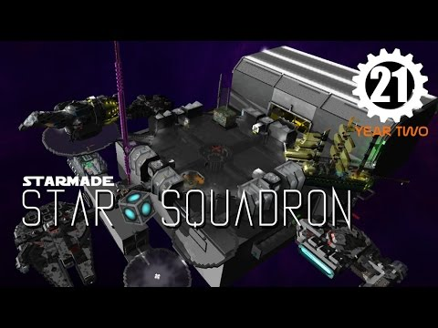 Lets Play STARMADE: StarSquad - S2E21 - Expanded Station Tour