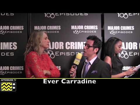 Ever Carradine  I  Major Crimes 100 Episodes Celebration  I  2017