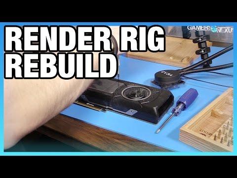 Emergency Render Rig Rebuild (Pump Failure) - Pt 1/2