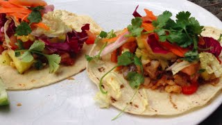 Healthy Fish Taco's With Fresh Pineapple Salsa | Gluten Free