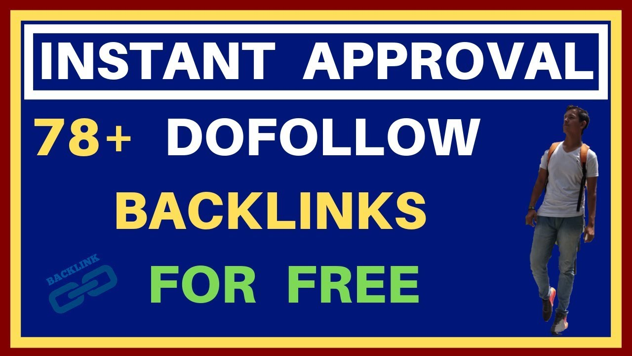 Instant approval blog commenting sites list | Instant approval dofollow  backlinks For Free