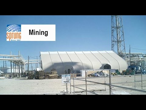 Sprung Mining Buildings & Camp Facilities