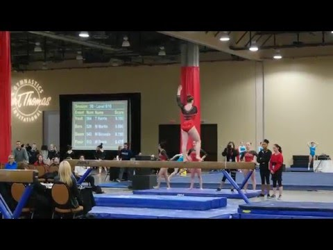 2016 Kurt Thomas Invitational - Beam (1st Place)