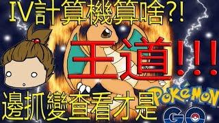 【Pokémon GO】IV計算機算什麼?!(邊抓邊檢查IV才是王道?!)