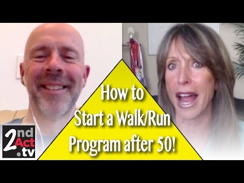 Running After 50! How to start a Running, Jogging or Walking Program after 50!