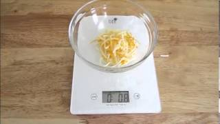 How To Use A Kitchen Food Scale
