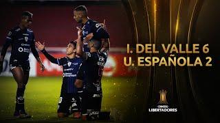 Independiente del Valle vs. Unión Española [6-2] | RESUMEN | Fase 2 | LIBERTADORES 2021