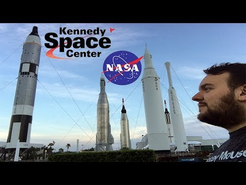 My first time at Kennedy Space Center at Cape Canaveral, FL