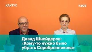 Давид Шнейдеров: «Кому-то нужно было убрать Серебренникова»