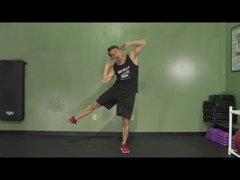 beginner core workout at the gym  hasfit easy core