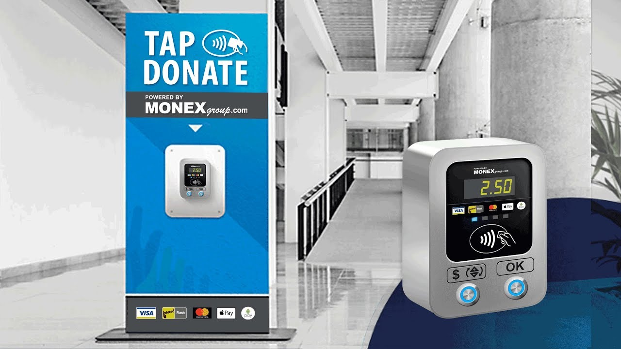 MONEXgroup's Contactless Tap to Donate Solution Boosts Fundraising Results  for Charities
