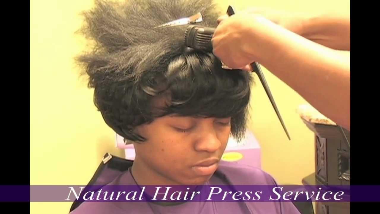 Straightener Treatment For Natural Hair