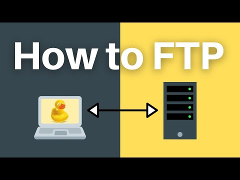 How to FTP on Windows and Mac with Cyberduck (an FTP client)