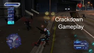 Crackdown Gameplay
