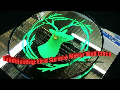 Etching Glass: How to Sandblast Mirrors | Complete Guide (2019)