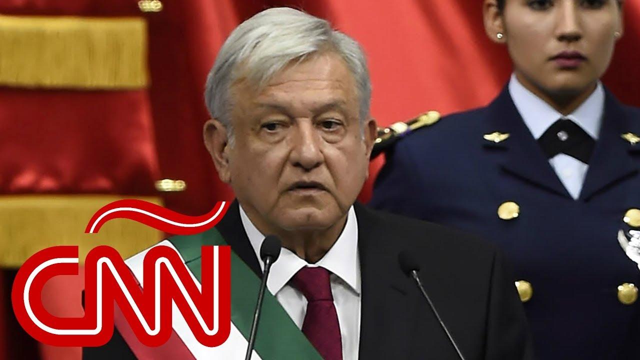 El primer discurso de Andrés Manuel López Obrador como presidente de México YouTube