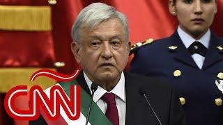 El primer discurso de Andrés Manuel López Obrador como presidente de México