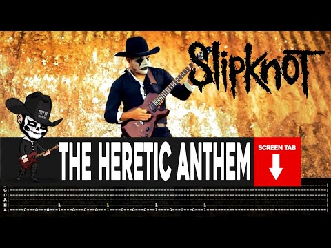 Slipknot - The Heretic Anthem (Guitar Cover by Masuka W/Tab)