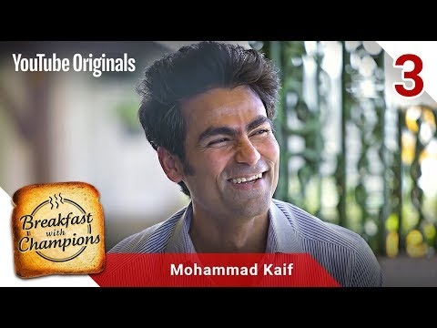 Episode 3  Mohammad Kaif  Breakfast with Champions Season 6