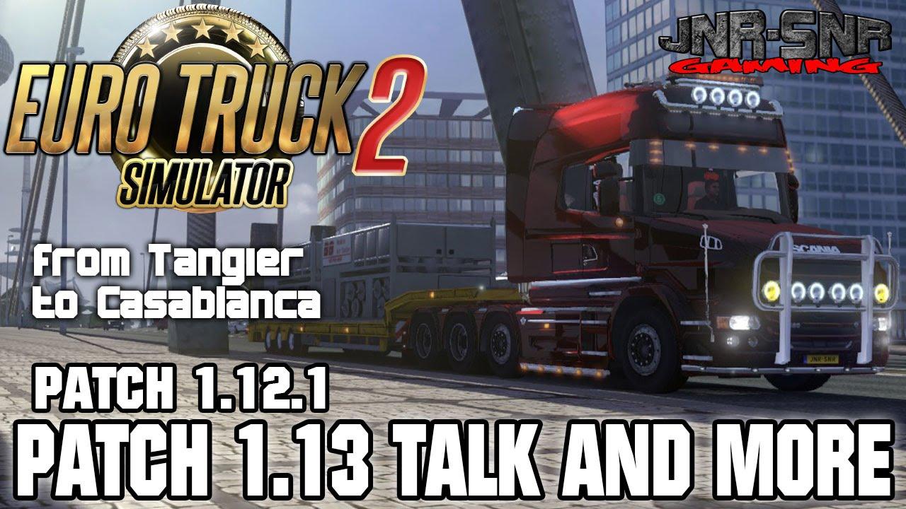 Patch 113 disponible ! sur le forum Euro Truck