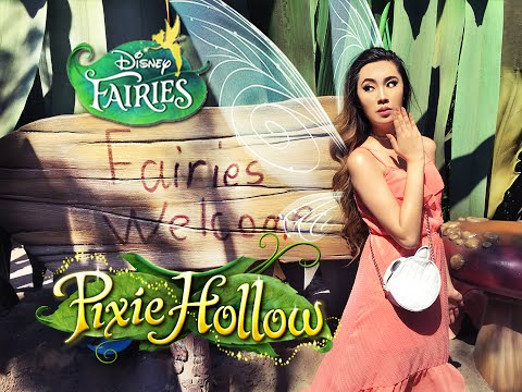My PIXIE HOLLOW Adventure! Disney Fairies 2016