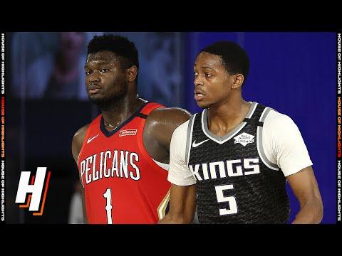 New Orleans Pelicans vs Sacramento Kings - Full Game Highlights | August 6, 2020 | 2019-20 Season