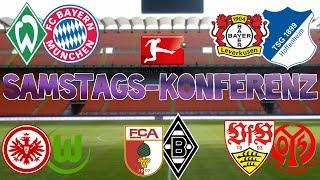 Bundesliga 2.Spieltag - Samstagskonferenz - FIFA 17 Prognose 17/18