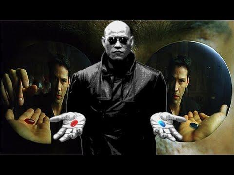 Resultado de imagen para matrix blue red pill