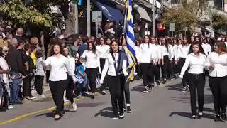 kozan.gr: Θερμό χειροκρότημα για μαθητές στην πάρελαση της 11ησ Οκτωβρίου