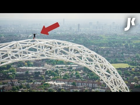I FREE CLIMBED WEMBLEY ARCH