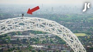 Climbing Wembley Arch!