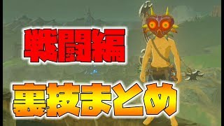 【ゼルダの伝説】戦闘で使える裏技まとめ!最新バージョンでもできる。【naotin】