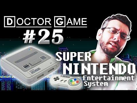 DOCTOR GAME - 25 - SUPER NINTENDO Entertainment System