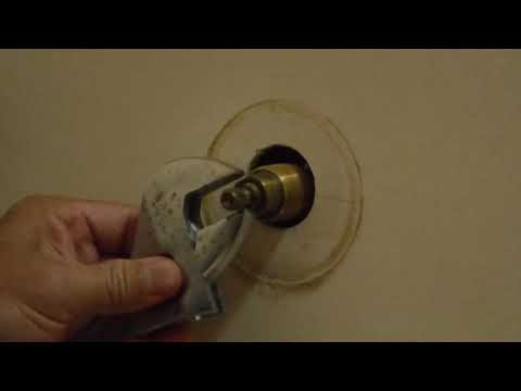 Replacing American Standard Cartridge For Shower Knobs
