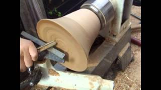 Woodturning Simple Segmented Bowl