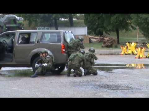 Anti terrorism action Slovak army Slovakia IDEB 2010 Defense Exhibition