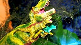 Динозавры. Приключения тиранозавра. Игрушки видео. Мультик для детей