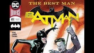 Джокер собирается убить Женщину Кошку?! Batman #49 обзор от Remake Legend